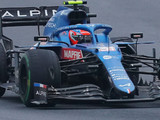 Ocon wants to hang P10 tyre on the Alpine factory wall