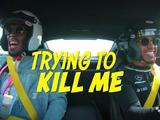 Video: Lewis Hamilton scares Usain Bolt during lap of the Circuit of the Americas