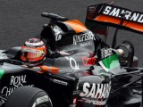 Hulkenberg blames visor tear-off for struggle