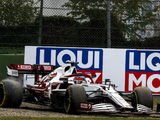 Raikkonen stripped of Imola points after bizarre restart infringement