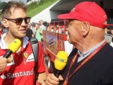 Lauda reveals amazing gesture made by Vettel during recovery