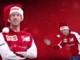Video: Ferrari drivers wish a Merry Christmas
