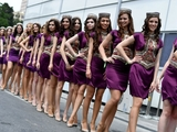 Grid girls hit back after getting the axe