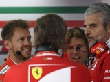 Vettel stands by 'key' Ferrari boss Arrivabene