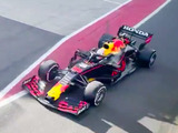 Red Bull takes to the track for first time with its new car