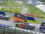 Video: Aston Martins, Caravans, Red Bull drivers and a race track...