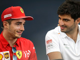 Sainz not worried about Leclerc relationship