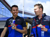 Kvyat starts Albon mindgames? 'Not such a good start'