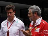 Wolff urges F1, Liberty to be wary of Ferrari's threats