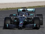 Mercedes tries revised front wing in 2019 Formula 1 testing