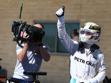 Lewis Hamilton 'feels amazing' after first ever US GP pole position