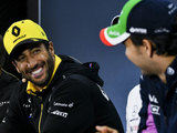 "Ricciardo ""had a bit of an idea"" Perez axe announcement was due"