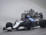 """Russell: """"Doesn't matter"""" how maiden F1 podium arrived"""