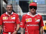 Kimi Raikkonen doesn't subscribe to Ferrari's favourites tag