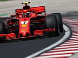 Kimi Raikkonen fastest on second morning of Hungaroring test
