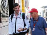 Toto Wolff and Niki Lauda extend Mercedes deals to 2020
