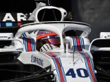 Robert Kubica driving '70% left-handed' in F1 after rally injury