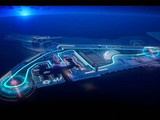 Yas Marina changes to include a banked corner