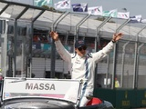 Massa: Not bad for an old boy!