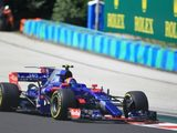 Sainz Jr happy to hold on to seventh position in Hungary