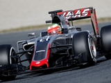 Haas ends second test day prematurely