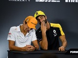 "McLaren hopes F1 drivers Ricciardo and Norris share ""box of secrets"""