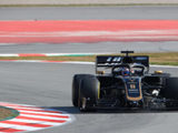 Grosjean positive after fourth day of testing in Barcelona
