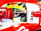 Schumacher trying to ignore first F1 test during F2 debut weekend