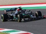 Hamilton's brake fire on F1 Tuscan GP grid down to limited cooling