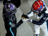 """Russell """"under no illusion"""" of Hamilton challenge at Mercedes"""