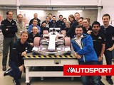 Manor F1 team reveals image of 2017 F1 car design model
