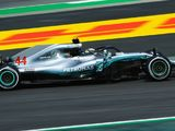 Lewis Hamilton edges Red Bull drivers in second practice