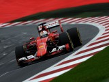 Vettel fastest prior to rain in Austria