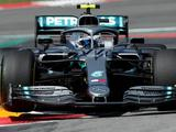 Spanish GP: Bottas top as Stroll crashes