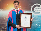 Toto Wolff awarded Honorary Degree from Cranfield University