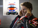 It was a pretty big hit, says Grosjean of 17G crash