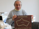 Stewart first legend in Silverstone Wall of Fame