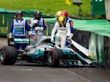 Lewis Hamilton takes the blame for qualifying spin