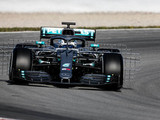 Bottas sets pace on first day of Barcelona testing