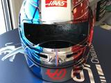 Grosjean reveals special French GP F1 helmet