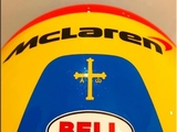 Alonso teases new 2018 helmet design