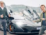 Video: Nico Rosberg takes Mika Hakkinen for a spin around Monaco in a McLaren P1