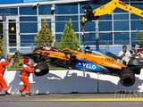 Carlos Sainz takes blame for race-ending Russian GP F1 accident