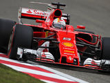 Vettel sets the pace in FP3 at China