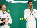 Lewis Hamilton questions when Nico Rosberg's good luck will end