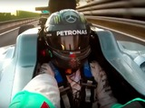 Video: Nico Rosberg drives W07 F1 car for final time