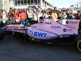 Force India's new livery breaks cover