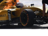 Nico fastest, Renault on fire