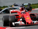 Raikkonen fastest for Ferrari on day two