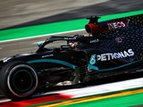 Hamilton keeps Mercedes on top, Grosjean surprises